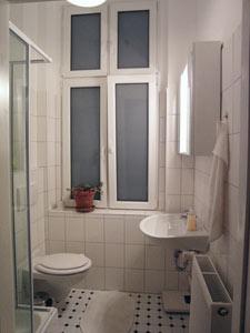 WC- und Duschbad für unsere Gäste